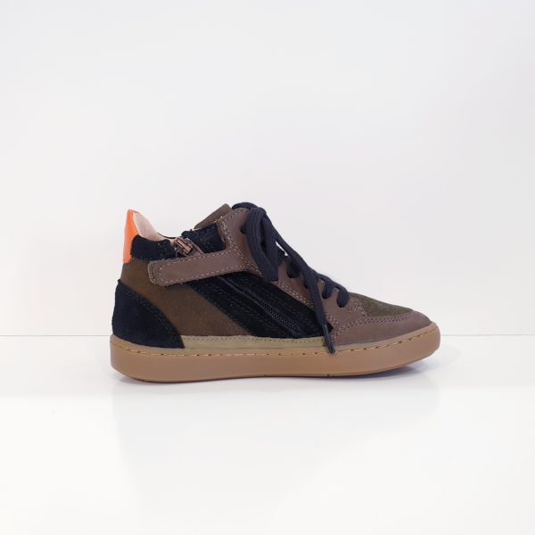SHOOPOM.PLAYCONNECT.OCEANIA/NUBUCK.KAKI/BLACK/ORANGE