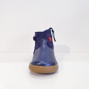 SHOOPOM.BOUBAWEST.LAMINATO/VELOUR.NAVY/MULTICOLORS