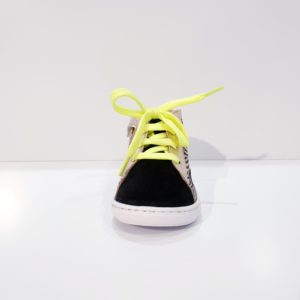 SHOOPOM.BOUBASTYLE.ZEBRA/METAL.BLACK/BLUE/YELLOW